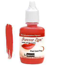 Пигмент Forever Lips Pink Coral Pop