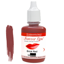 Пигмент Forever Lips Brick Red